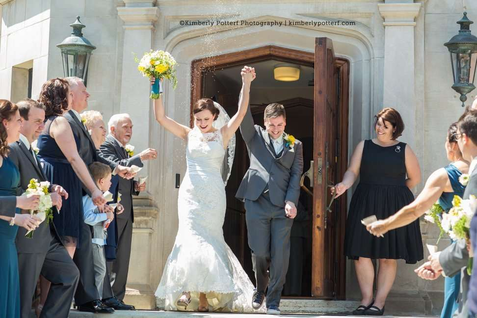 Columbus Ohio Wedding Photographer Jeffrey Mansion and Park Ceremony