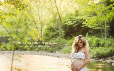 Sunset Maternity Shoot / Columbus, Ohio Family Photography