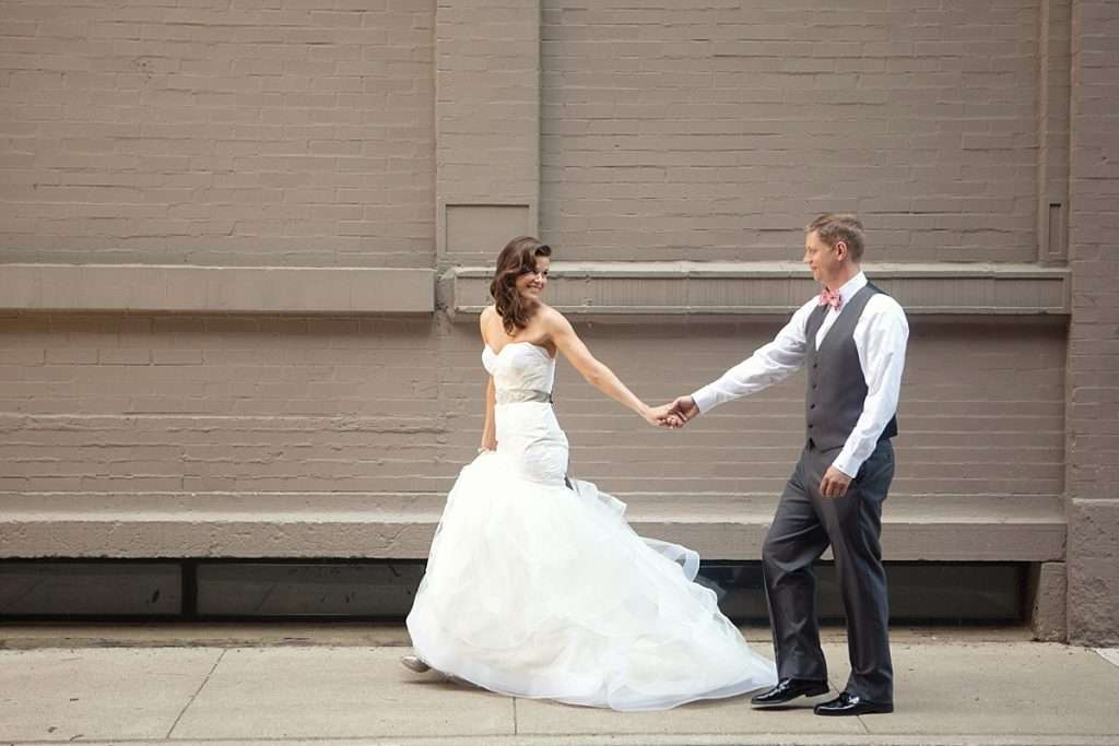 Rooftop Wedding at the Renaissance in Downtown, Columbus, Ohio 2