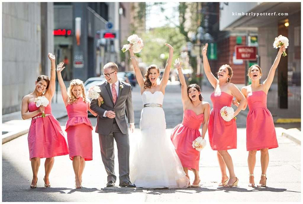 Rooftop Wedding at the Renaissance in Downtown, Columbus, Ohio 4