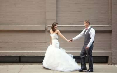 Rooftop Wedding at the Renaissance in Downtown, Columbus, Ohio