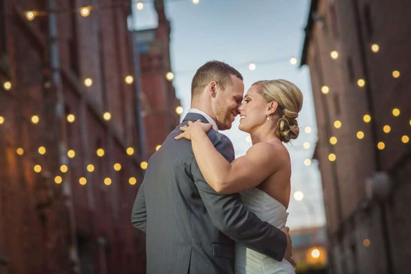 Fall Wedding at Via Vecchia Winery in Downtown Columbus!