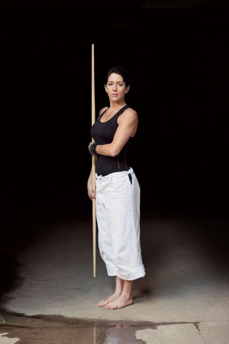 portrait of martial artist Kelly Muir