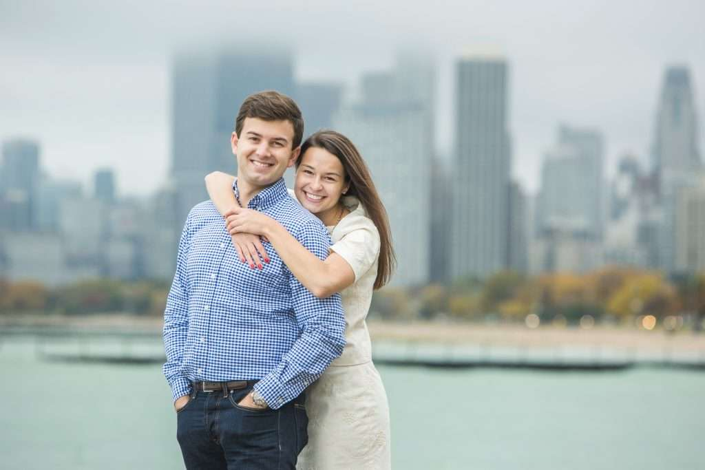 Samantha and Andrew | Chicago Engagement Session and Columbus Wedding 18