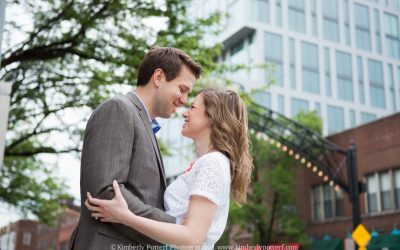 Engagement Shoot / Short North Arts District / Columbus, Ohio