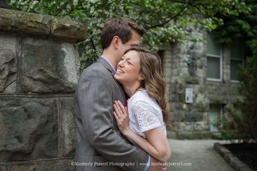 Short North Arts District, Columbus Ohio engagement photography, central ohio wedding photographer
