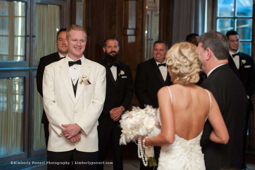 Great Gatsby Inspired Wedding at the Athletic Club of Columbus 46