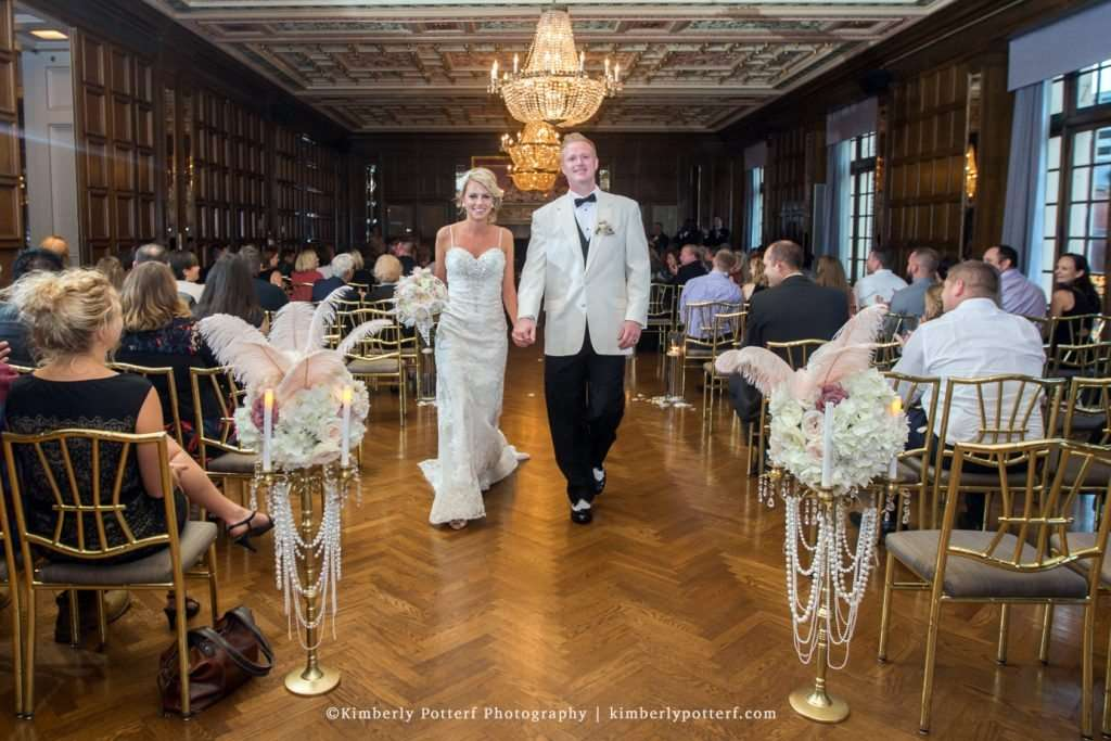 Great Gatsby Inspired Wedding at the Athletic Club of Columbus 62