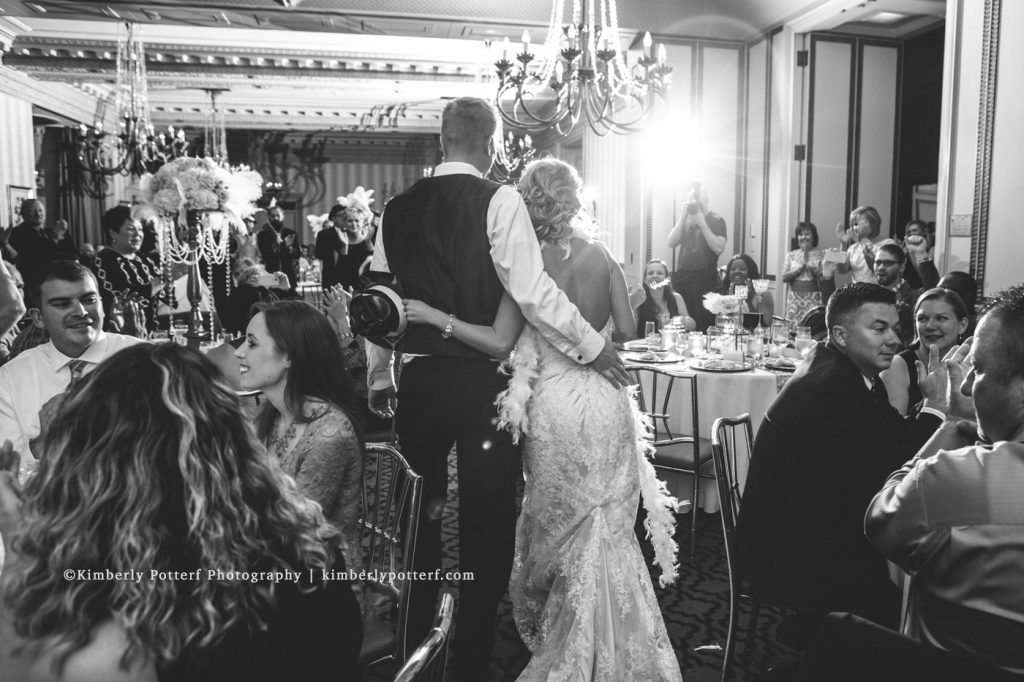 Great Gatsby Inspired Wedding at the Athletic Club of Columbus 68