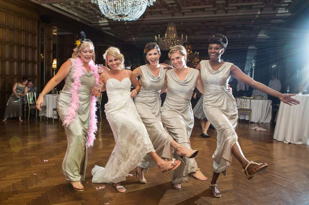 Great Gatsby Inspired Wedding at the Athletic Club of Columbus 78