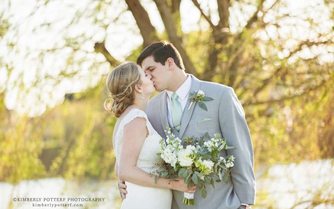 Mint and Gray Spring Wedding at the Golf Club of Dublin