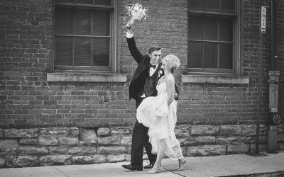 Summer Wedding at the Highline Car House / Columbus, Ohio
