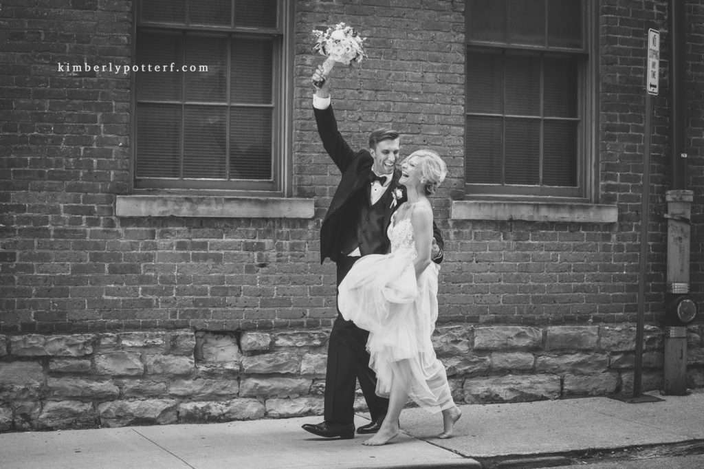 A Summer Wedding at the Highline Car House | Columbus, Ohio 1500