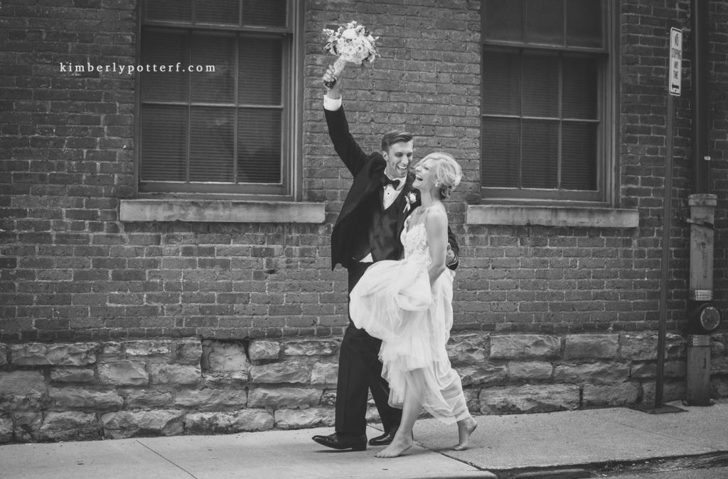 Summer Wedding at the Highline Car House / Columbus, Ohio