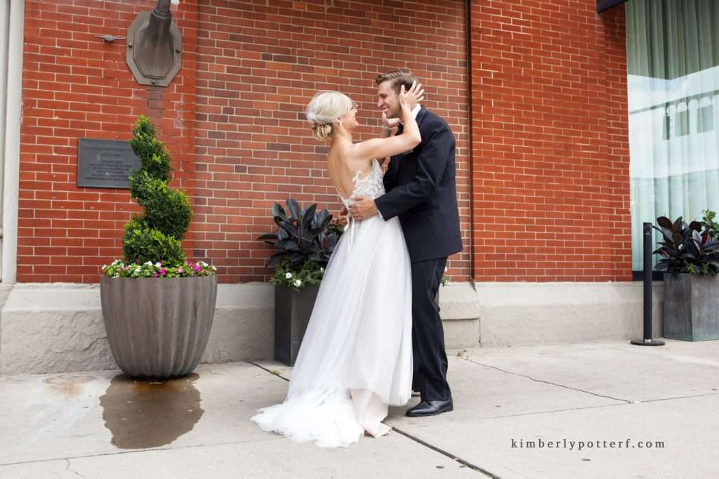 A Summer Wedding at the Highline Car House | Columbus, Ohio 50