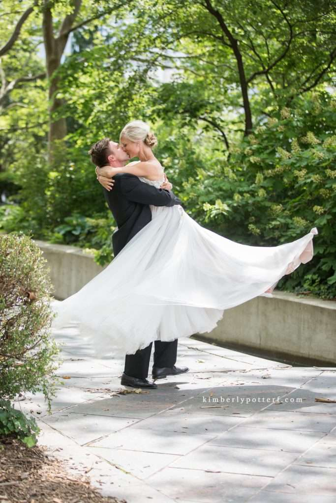 A Summer Wedding at the Highline Car House | Columbus, Ohio 84