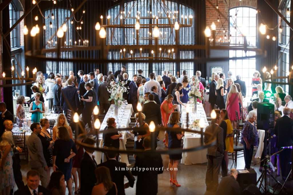 A Summer Wedding at the Highline Car House | Columbus, Ohio 98