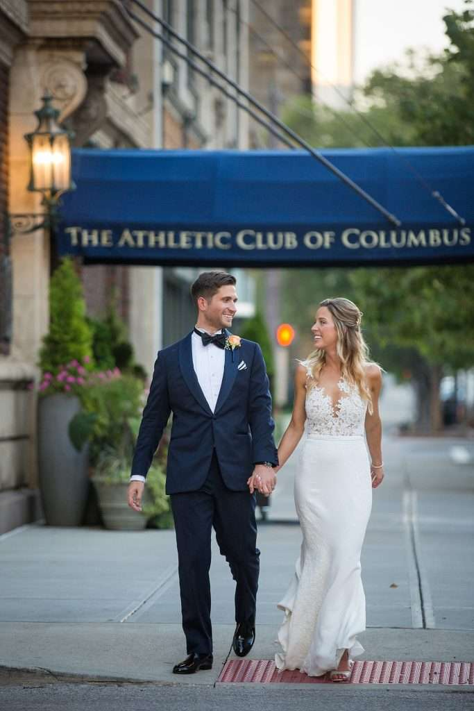 Hitched in Style | A Wedding at the Athletic Club of Columbus 60