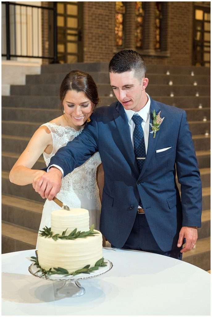 A Wedding at St. Francis of Assisi Church and Walter Commons 148
