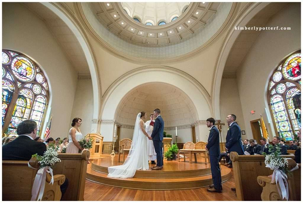 A Wedding at St. Francis of Assisi Church and Walter Commons 58