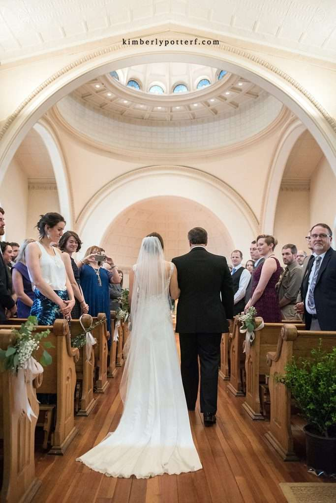 A Wedding at St. Francis of Assisi Church and Walter Commons 56
