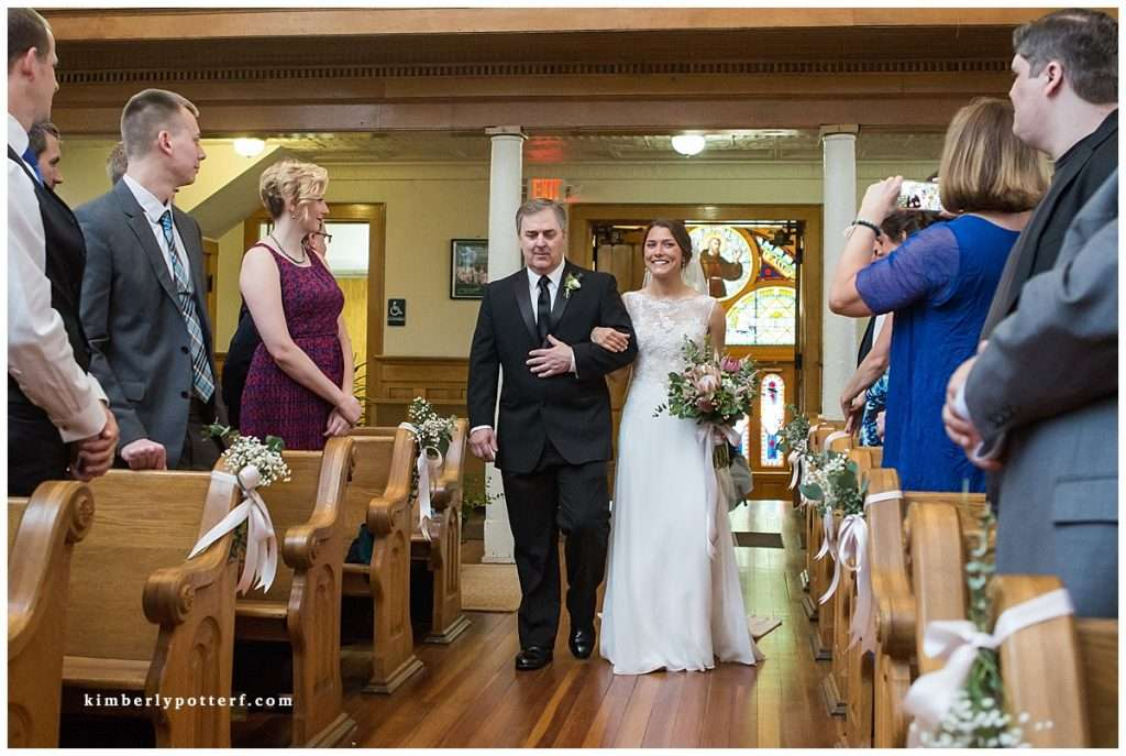 A Wedding at St. Francis of Assisi Church and Walter Commons 52