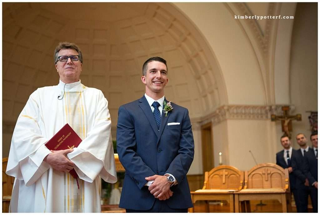 A Wedding at St. Francis of Assisi Church and Walter Commons 50