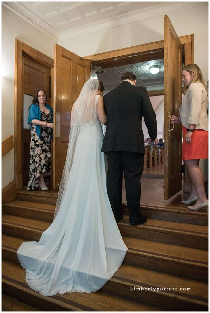 A Wedding at St. Francis of Assisi Church and Walter Commons 48