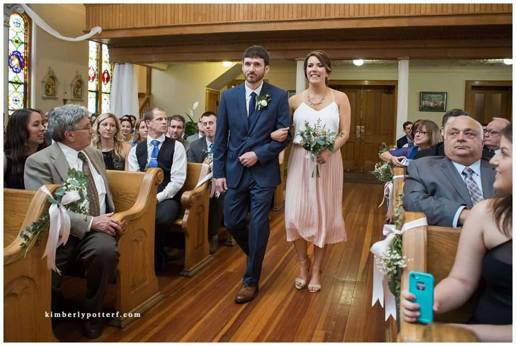A Wedding at St. Francis of Assisi Church and Walter Commons 46