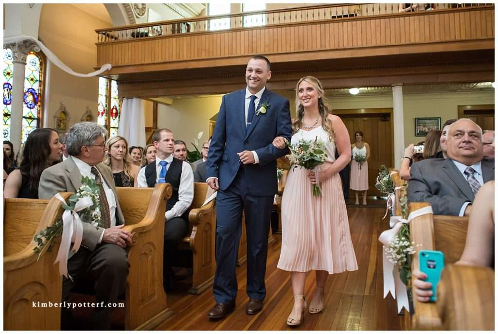 A Wedding at St. Francis of Assisi Church and Walter Commons 44