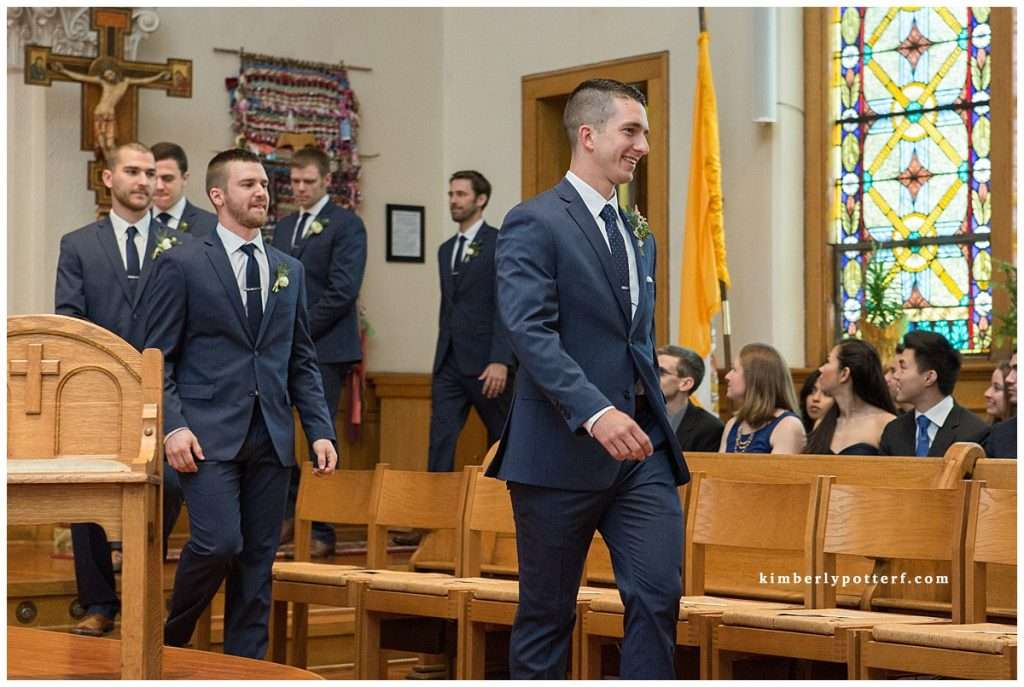 A Wedding at St. Francis of Assisi Church and Walter Commons 42