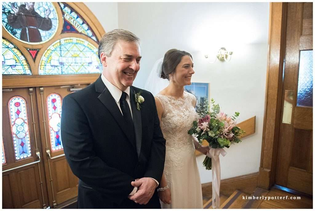 A Wedding at St. Francis of Assisi Church and Walter Commons 40