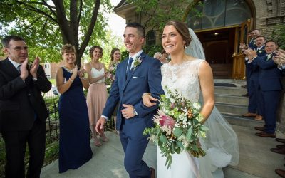 A Wedding at St. Francis of Assisi Church and Walter Commons