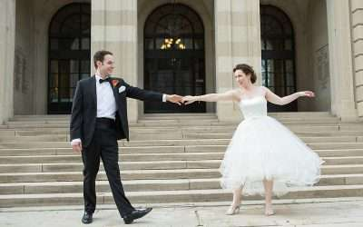 Whimsy Meets Glamour | A Wedding at the Columbus Museum of Art