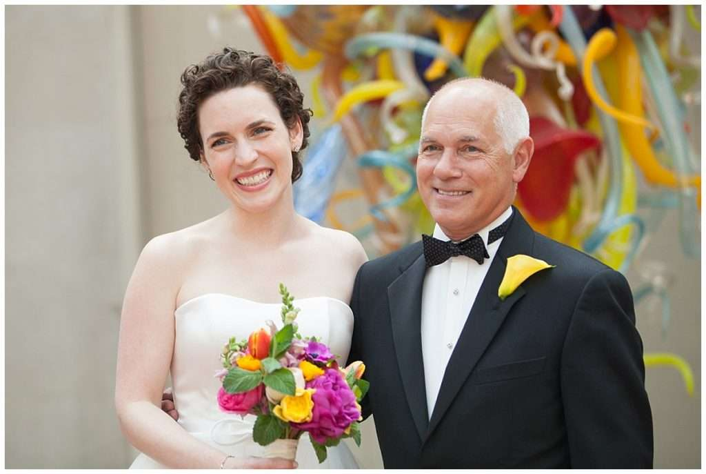 Whimsy Meets Glamour | Columbus Museum of Art Wedding 34