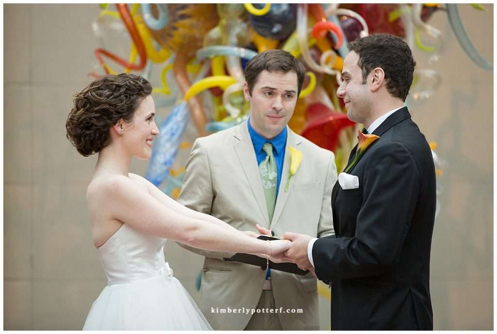 Whimsy Meets Glamour | Columbus Museum of Art Wedding 74