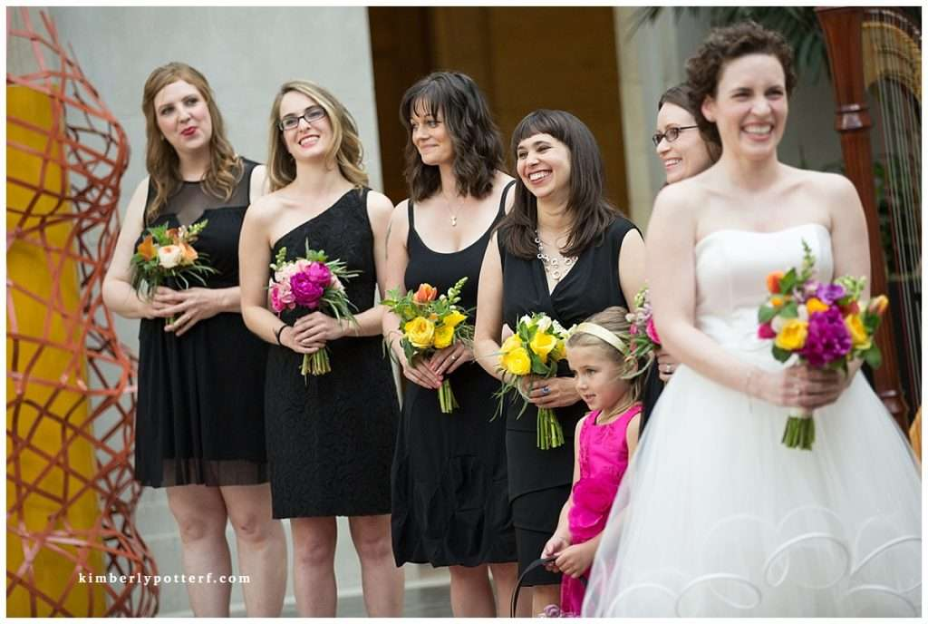 Whimsy Meets Glamour | Columbus Museum of Art Wedding 76