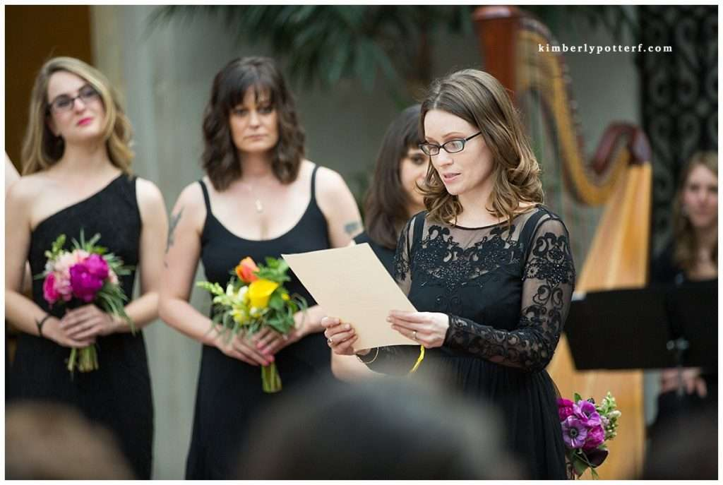 Whimsy Meets Glamour | Columbus Museum of Art Wedding 82