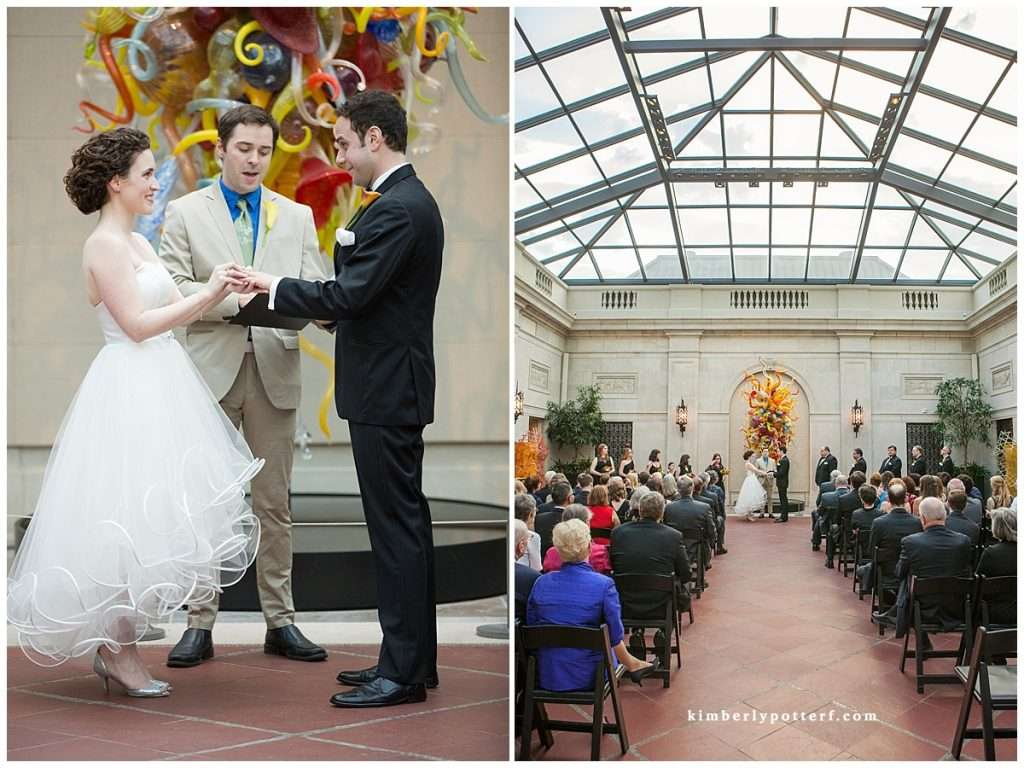Whimsy Meets Glamour | Columbus Museum of Art Wedding 86