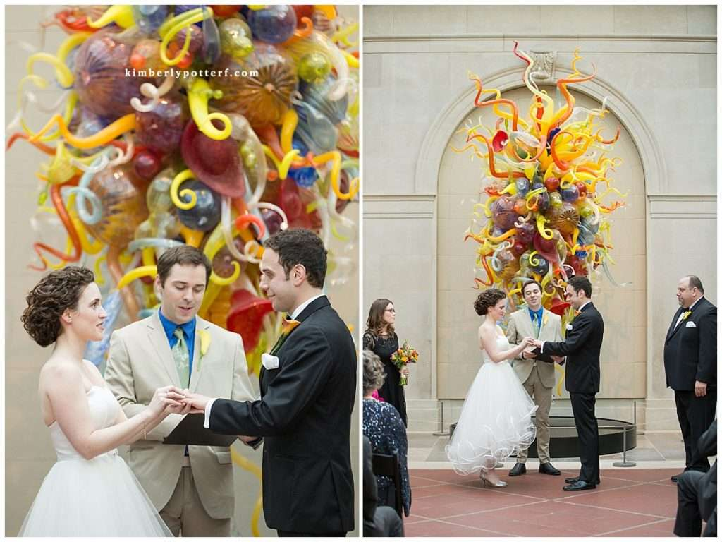 Whimsy Meets Glamour | Columbus Museum of Art Wedding 88