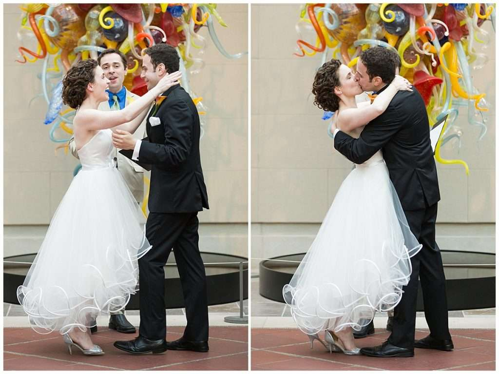 Whimsy Meets Glamour | Columbus Museum of Art Wedding 92