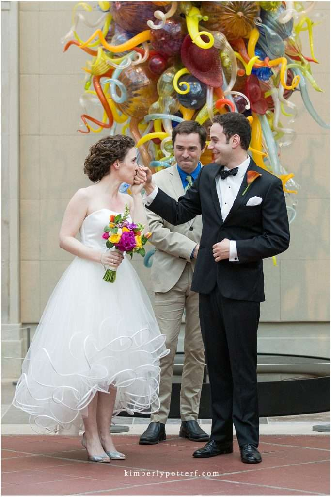 Whimsy Meets Glamour | Columbus Museum of Art Wedding 94