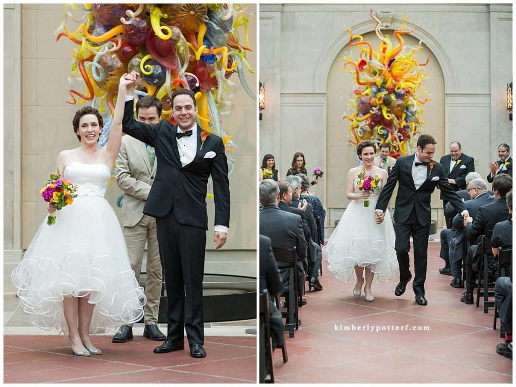 Whimsy Meets Glamour | Columbus Museum of Art Wedding 96