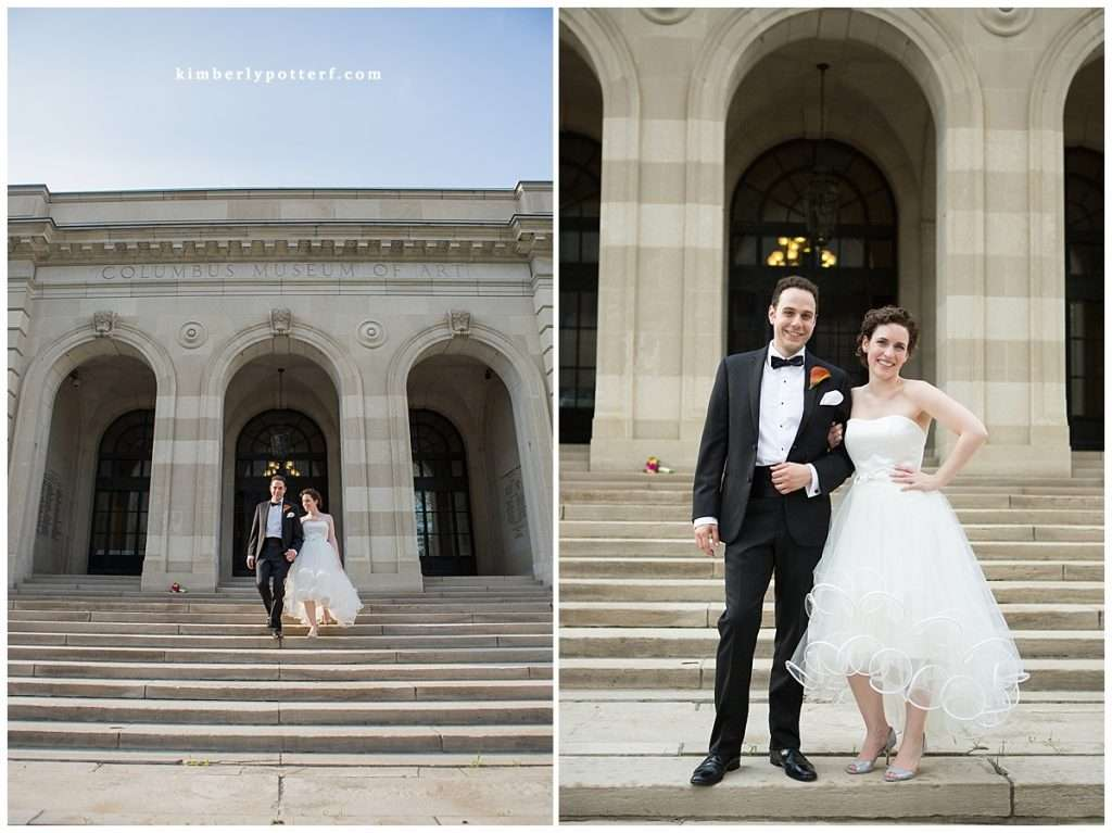 Whimsy Meets Glamour | A Wedding at the Columbus Museum of Art 100