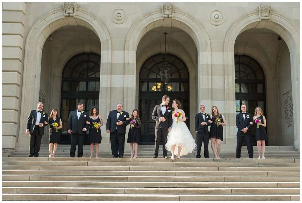 Whimsy Meets Glamour | Columbus Museum of Art Wedding 112