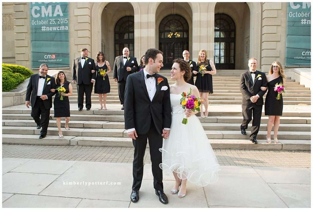 Whimsy Meets Glamour | Columbus Museum of Art Wedding 114