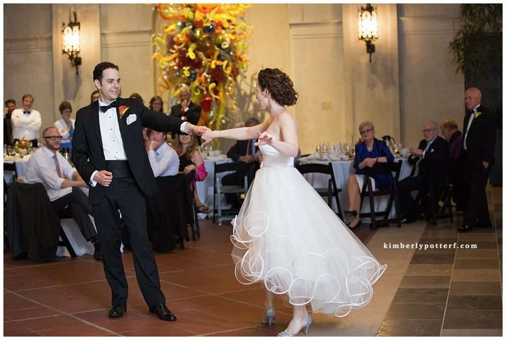 Whimsy Meets Glamour | Columbus Museum of Art Wedding 166