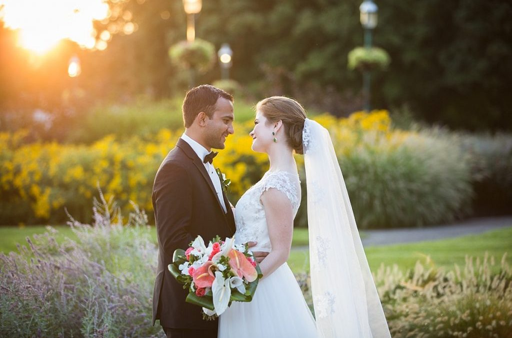 Wedding at Franklin Park Conservatory / Columbus Ohio Photography