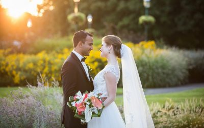 Stylish Wedding at the Franklin Park Conservatory