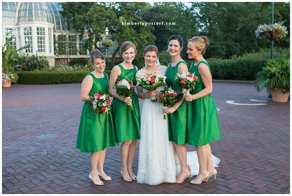 A Tropical-Inspired Wedding at the Franklin Park Conservatory 114